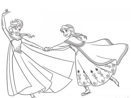 principesse stampare Frozen