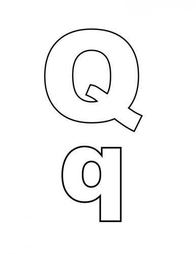 q maiuscola corsivo