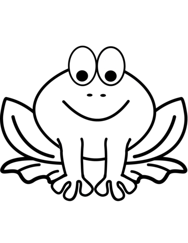 rana disegno bambini