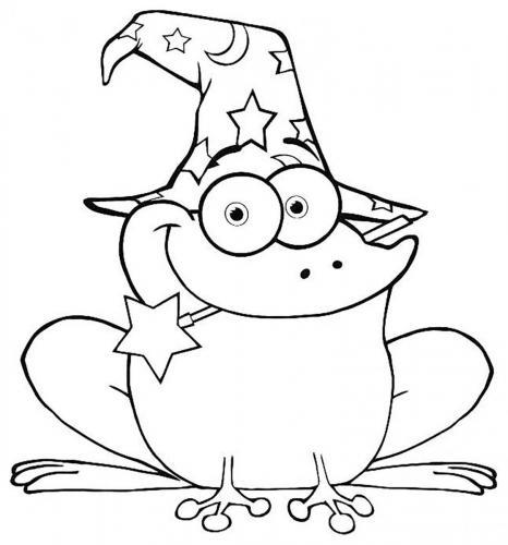 rana disegno per bambini