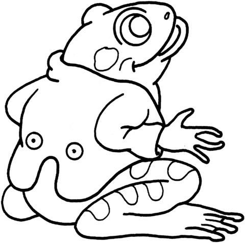 rane da disegnare per bambini