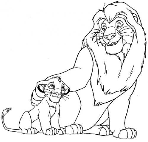 re leone disegni