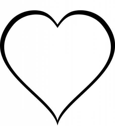 sagoma cuore