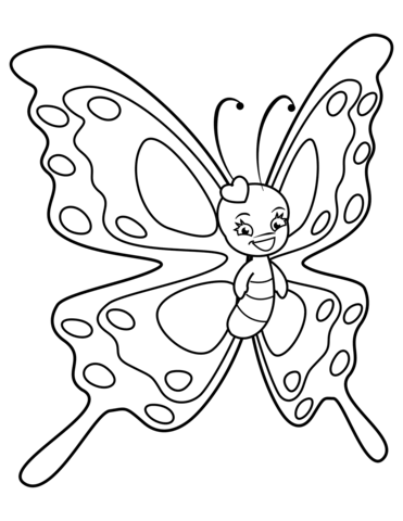 sagoma farfalla da ritagliare