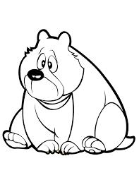 sagoma orso da ritagliare