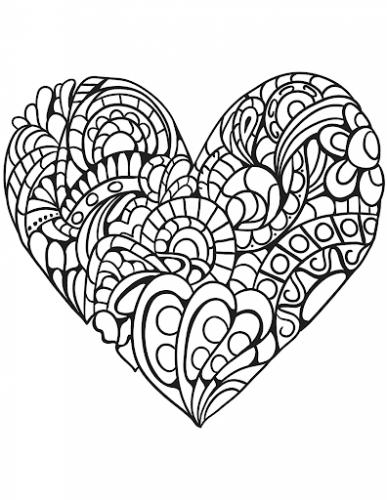 sagome cuore