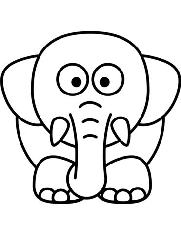 sagome elefanti