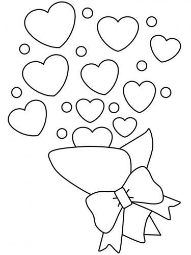 san valentino disegni da colorare