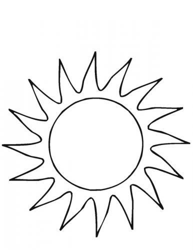 disegno sel sole