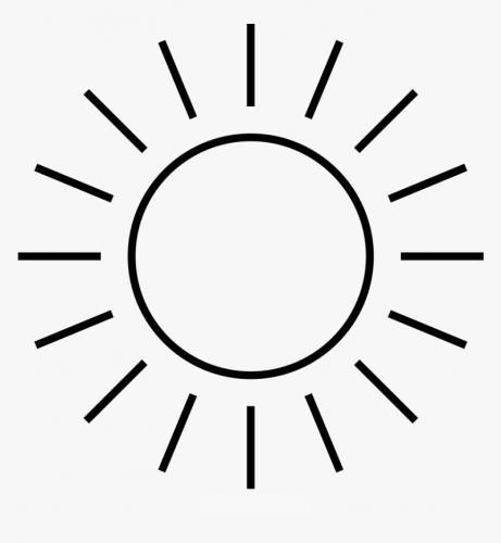 immagine stilizzata del sole