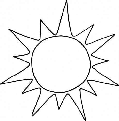 immagine bella del sole