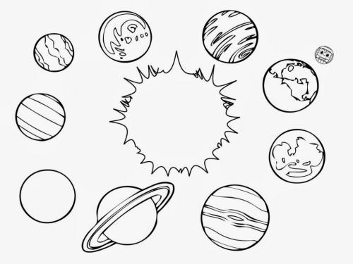 il sole tra i pianeti