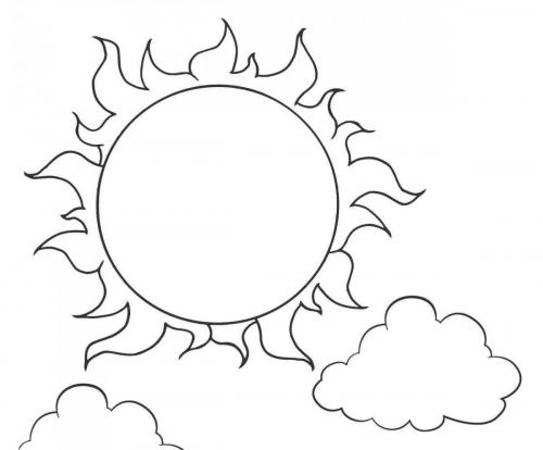 sole alto nel cielo