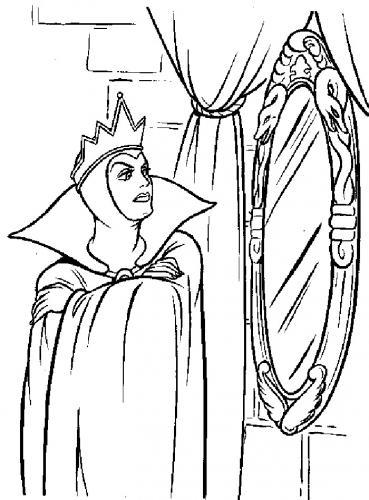 La strega allo specchio