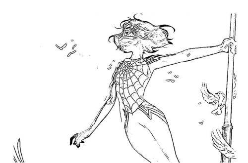 spiderman amazing da colorare
