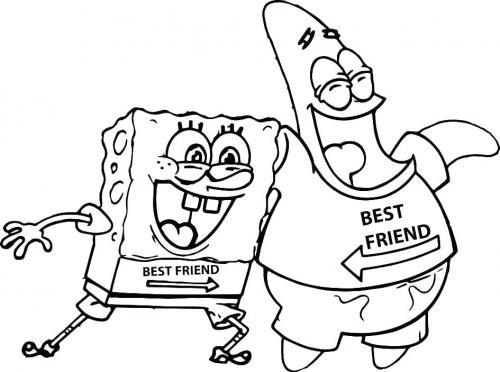 Spongebob e Patrick migliori amici