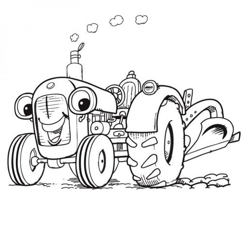 cartoni trattori