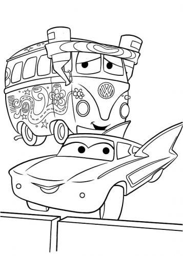 stampa e colora cars