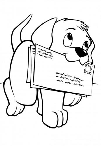 stampa e colora disegni di cani