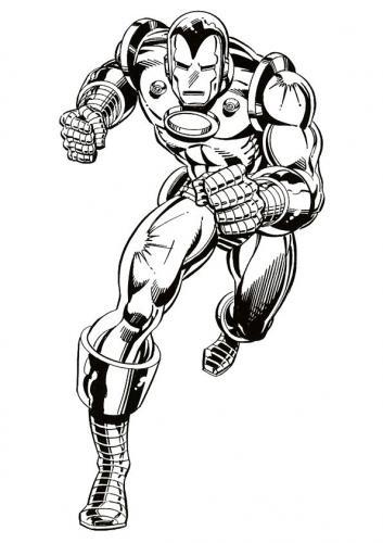 stampa Iron Man