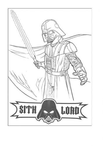 Star Wars immagini da colorare