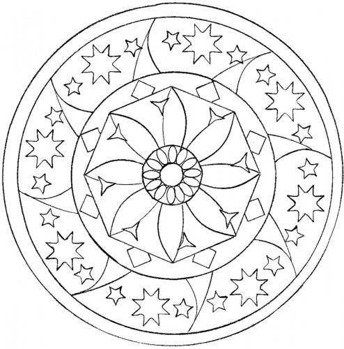 stella da stampare