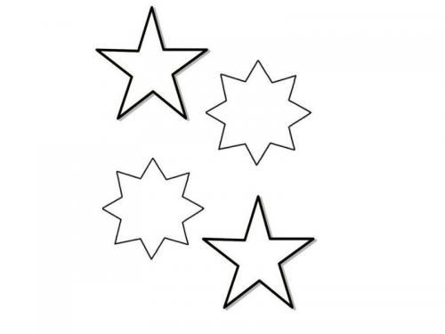stelle disegno