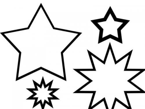 stelle da stampare