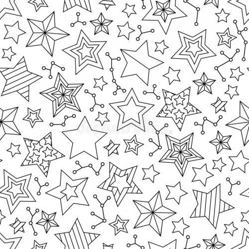 stelle da disegnare