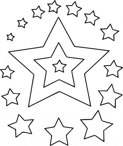 stelle disegnate