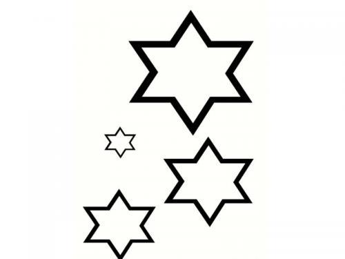stelle- da ritagliare