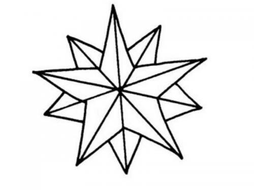 stelle stilizzate