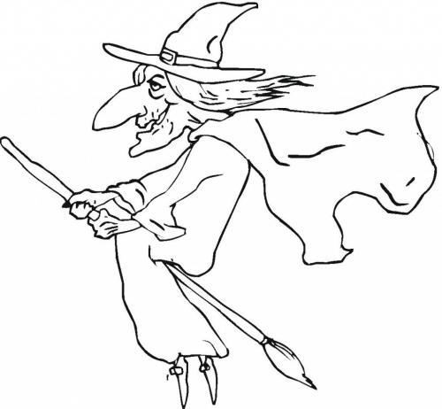 disegno della strega