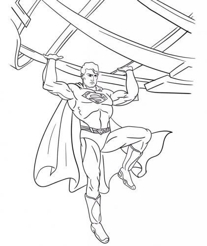 Superman cartone