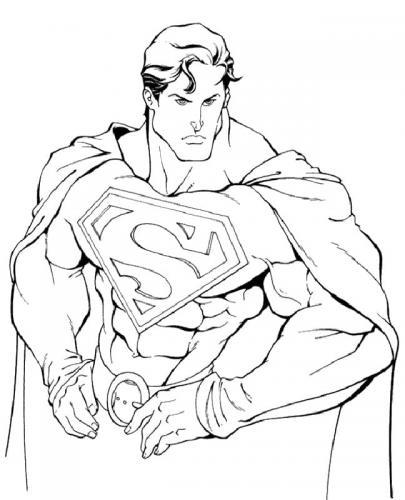 Superman da stampare