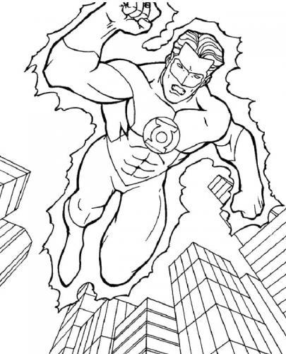 Superman disegni da colorare
