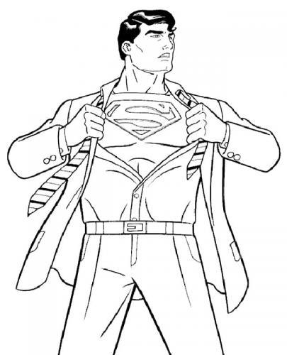 Superman disegno