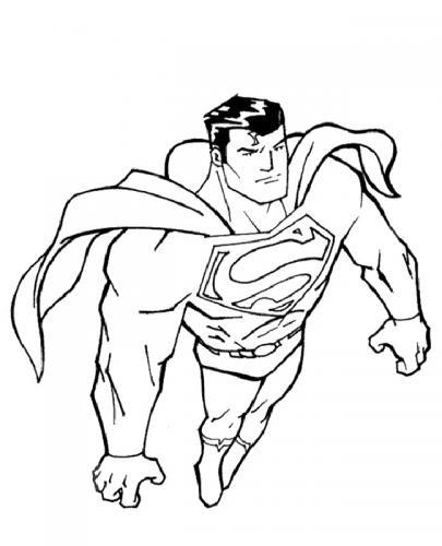 Superman immagini da colorare