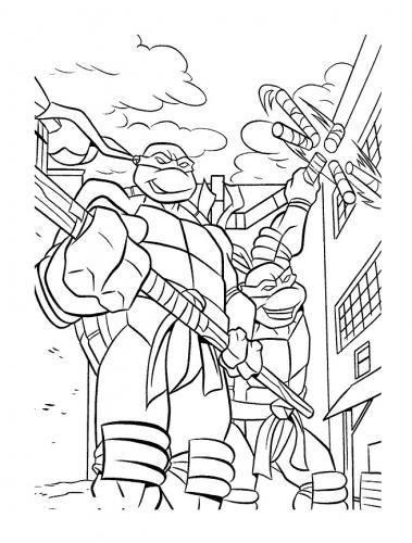tartarughe ninja disegni
