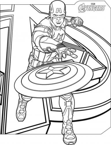 The Avenger Capitan America