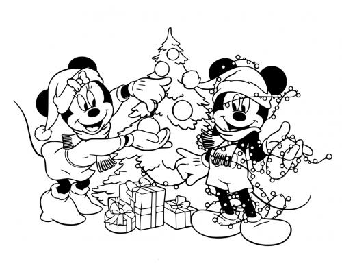 Disegni Da Colorare Topolino Natale.Topolino 88 Disegni Da Stampare E Colorare A Tutto Donna