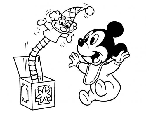 Walt Disney Da Colorare.Topolino 88 Disegni Da Stampare E Colorare A Tutto Donna