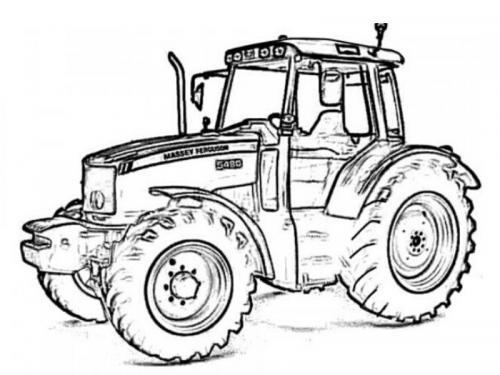 trattore disegno