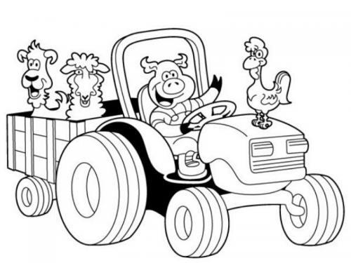trattori disegnare