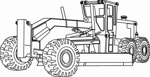 trattori disegnati