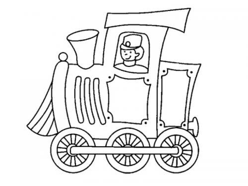 treni disegnare