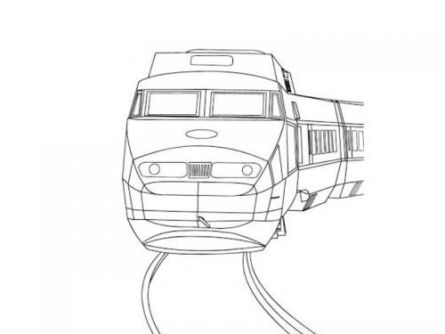 treni disegni
