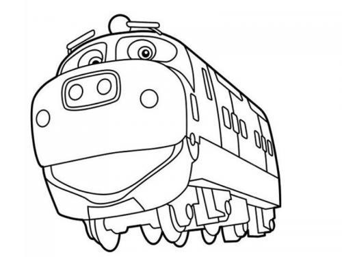 treni immagini animate
