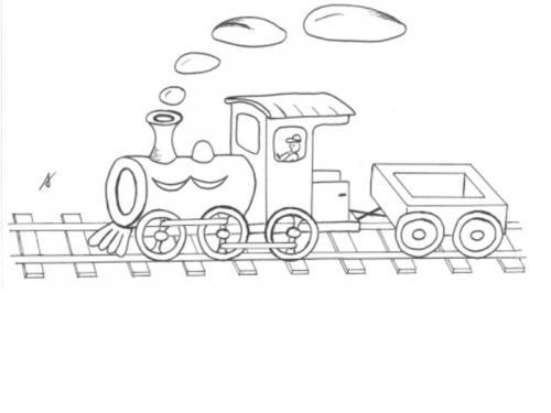 trenini disegni