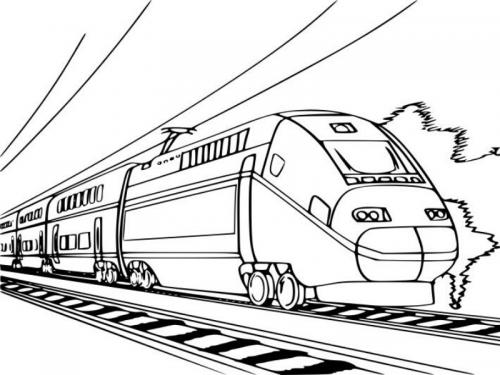 treno cartoon